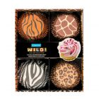 Wild Animal Print Cupcake Cases - Set of 4