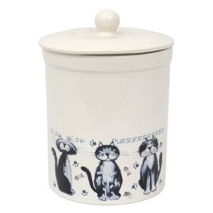 Ashmore Ceramic Compost Caddy - Alley Cats