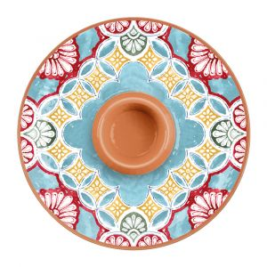 Rio Corte Melamine Chip & Dip Server