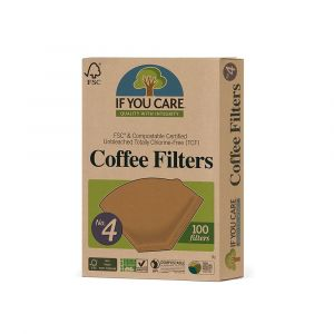 If You Care Compostable No.4 Coffee Filters