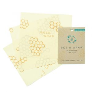 Bee's Wrap - Set of 3 - Small/Medium/Large Honeycomb Design