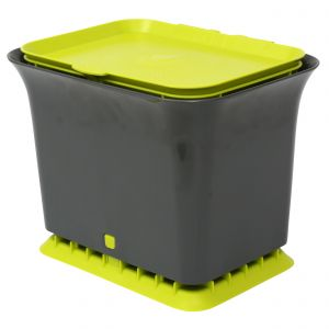 Full Circle Odour-Free Compost Collector– 5.7L – Grey & Green