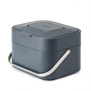Joseph Joseph Stack 4 Food Waste Caddy - Graphite - 4 Litres
