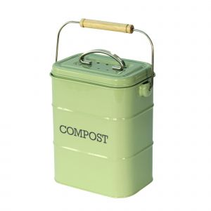 Nostalgia Compost Caddy - English Sage