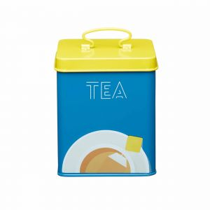KitchenCraft Printed Tea Canister