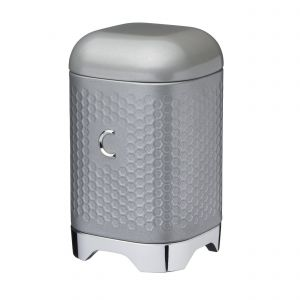 Lovello Textured Grey Coffee Canister