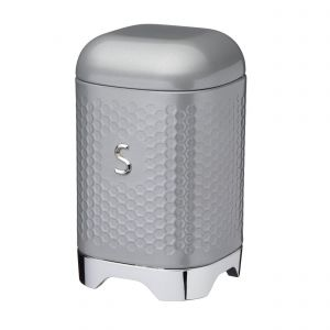 Lovello Textured Grey Sugar Canister