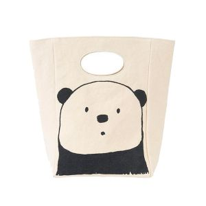 Fluf Classic Lunch Bag - Panda Design