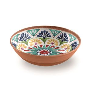 Rio Medallion Melamine Large Salad Bowl