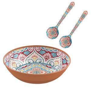 Rio Corte Melamine Salad Serving Set