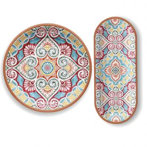 Rio Corte Melamine Entertaining Set for Nibbles