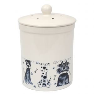 Ashmore Ceramic Compost Caddy - Scruffy Dogs