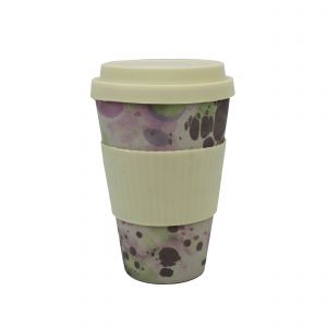Addis Bamboo Reusable Travel Mug - Marble