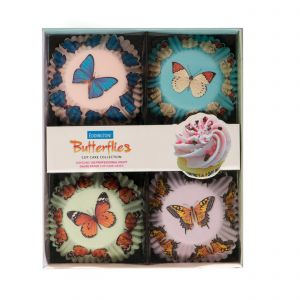 Butterfly Cupcake Cases - Set of 4