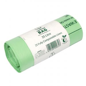 35/40L BioBag Compostable Waste Bin Liners