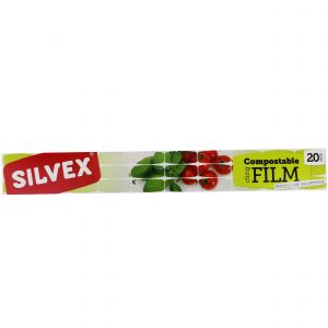 Silvex Compostable Cling Film - 20 Metres