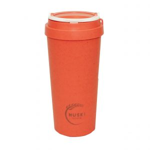 Huski Home Reusable Travel Cup - Coral Red (500ml)
