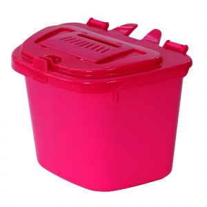 Vented Caddy - Pink - 5L size & 50 x 6L Bags