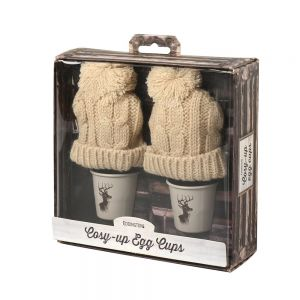 Cosy-up Stag Egg Cups