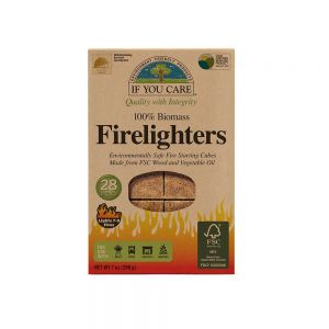 If You Care Firelighter Tablets - FSC Wood and Vegetable Oil - Pack of 28
