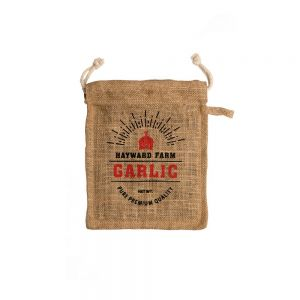 Jute Fibre Garlic Storage Bag/Sack