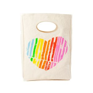 Fluf Classic Lunch Bag - Heart Design