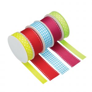Cake Decorating Ribbon - Bright Colours