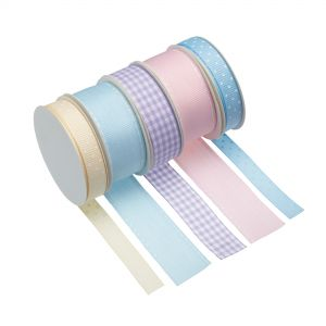 Cake Decorating Ribbon - Pastel Colours