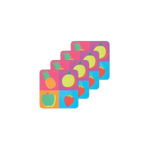 Fruit Coasters - Set of 4