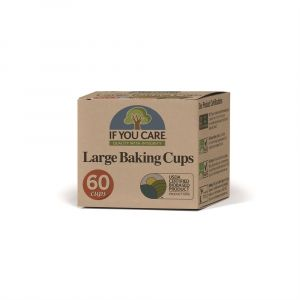If You Care Compostable Large Baking Cupcake Cases
