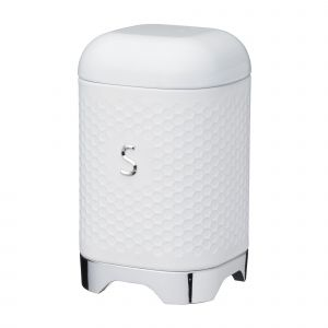 Lovello Textured White Sugar Canister