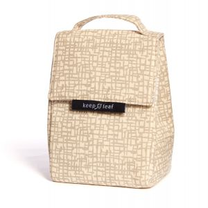 Keep Leaf Insulated Lunch Bag - Mesh Design