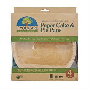 If You Care Paper Cake & Pie Pans