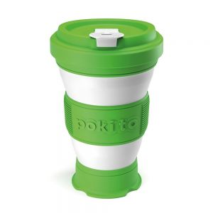 Pokito Pop-Up Cup - Lime Green
