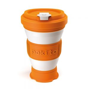 Pokito Pop-Up Cup - Pumpkin Orange