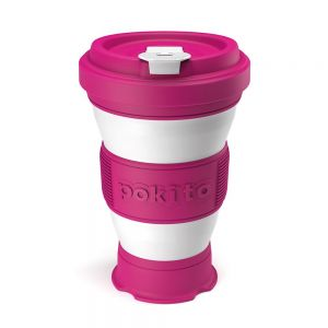 Pokito Pop-Up Cup - Raspberry Pink
