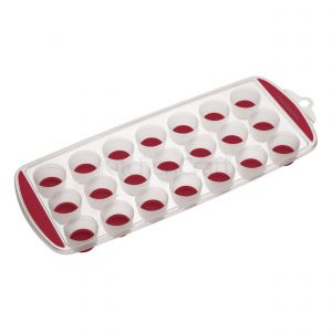 Pop-Out Ice Cube Tray - Red