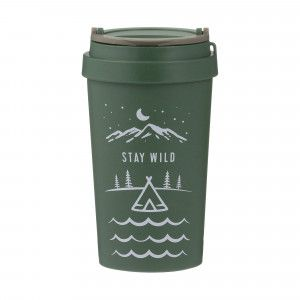 Pure Wheat Fibre Travel Mug (380ml) - 'Stay Wild'