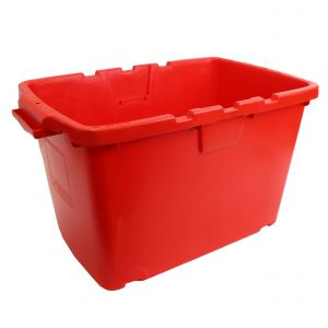 CORAL OUTDOOR RECYCLING/STORAGE BOX - 55L - RED