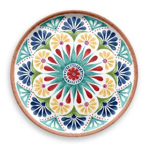 Rio Medallion Melamine Serving Platter