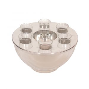 Spirit Cooler Bowl & 6 Shot Glasses