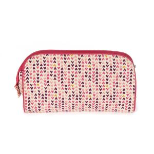 Keep Leaf Toiletry Bag - Hearts Design