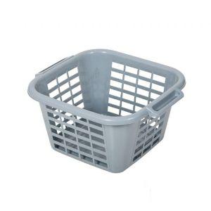 Addis Eco Square 24L Laundry Basket (Grey)