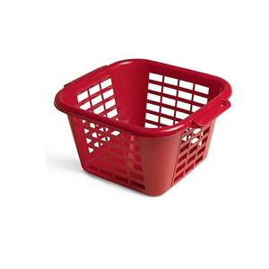Addis 24L Square Laundry Basket (Red)