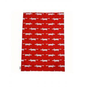 Scion Mr Fox Set of 2 Tea Towels (red)