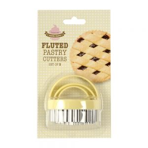 Fluted Pastry/Cookie Cutter Set - 3 Piece