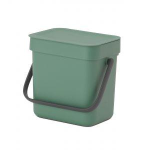 Brabantia Sort & Go Kitchen Caddy - Fir Green- 3L Size