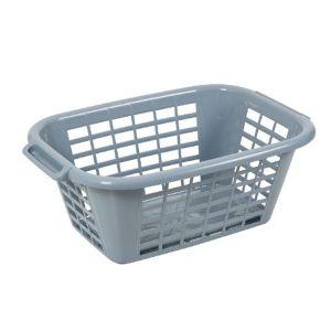 Addis Eco Rectangular 40L Laundry Basket (Grey)
