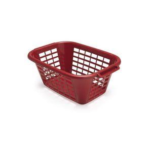 Addis 40L Rectangular Laundry Basket (Roasted Red)