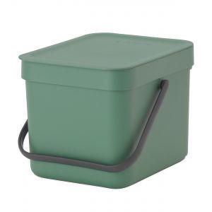 Brabantia Sort & Go Kitchen Caddy - Fir Green - 6L Size